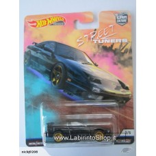 Hot Wheels - Real Riders - Street Tuners - 96 Nissan 180 SX Type X Diecast Car