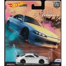 Hot Wheels - Real Riders - Street Tuners - Nissan Silvia S15 Diecast Car