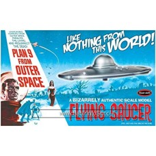 Polar Lights Flying Saucer - Plan 9 From Outer Space