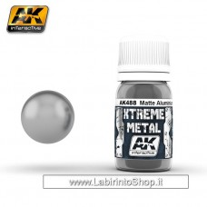 AK Interactive - AK488 - Xtreme Metal - Matte Alluminium - 30ml