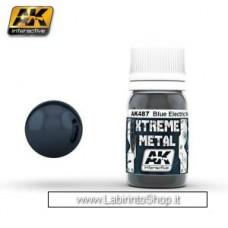 AK Interactive - AK487 - Xtreme Metal - Metallic Blue - 30ml