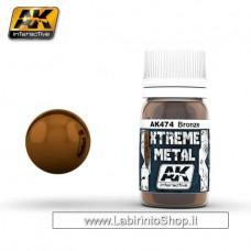 AK Interactive - AK474 - Xtreme Metal - Bronze - 30ml