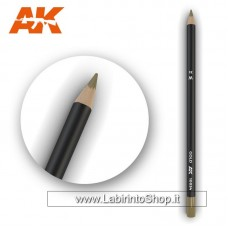 AK Interactive - AK10034 - Weathering Pencils For Modelling - Gold