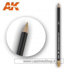 AK Interactive - AK10016 - Weathering Pencils For Modelling - Light Chipping For Wood
