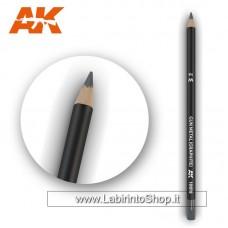 AK Interactive - AK10018 - Weathering Pencils For Modelling - Gun Metal Graphite