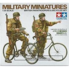 Tamiya 1/35 Scale British Paratroopers Bicycles Set