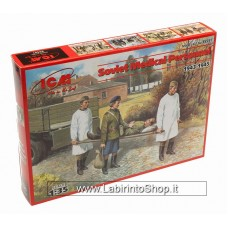 ICM Models 1/35 WWII Soviet Medical Personnel 1943-1945 35551