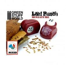 Green Stuff World Miniature Leaf Punch Red 1310