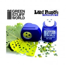 Green Stuff World Miniature Leaf Punch Dark Purple 1315