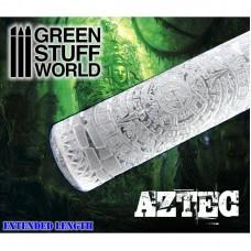 Green Stuff World Rolling Pin Aztec
