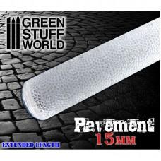 Green Stuff World Rolling Pin Pavement 15 mm