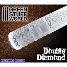 Green Stuff World Rolling Pin Double Diamond
