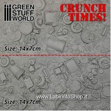 Green Stuff World Dump/Scrap Yard Plates - Crunch Times!