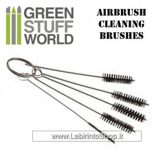 Green Stuff World Airbrush Cleaning BRUSHES set