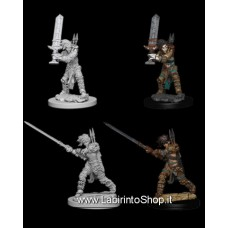 Dungeons & Dragons: Nolzur's Marvelous Unpainted Minis: Female Human Barbarian