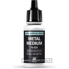 Vallejo 70.521 Metal Medium 17 Ml