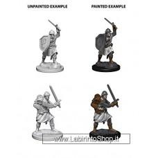Dungeons & Dragons: Deep Cuts Pathfinders Battles Unpainted Minis: Infantrymen