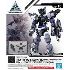 30MM Commander Aircraft Optional Armor [for Alto/Black] (Plastic model)