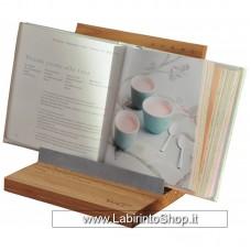 WD Leggio / Porta tablet in Legno Angolazione Regolabile
