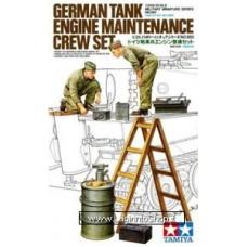 Tamiya 35180 German Tank Engine Maintenance Crew set 1/35 Scale Kit
