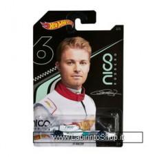 Hot Wheels - Nico Rosberg - F1 Racer Diecast Car