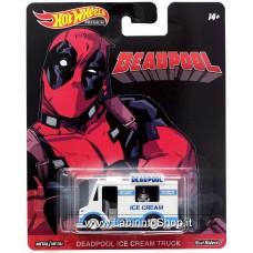 Hot Wheels - Premium - Real Riders - Deadpool Ice Cream Truck Diecast Car