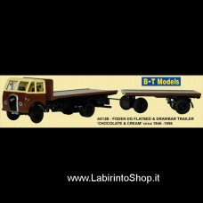 B-T Models - Foden DG F/Bed and Trailer - Chocolate/Cream 1/76