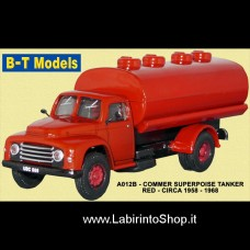 B-T Models - A12B Commer Superpoise Tanker Red - Circa 1958 1968 1/76