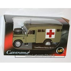 Cararama 1/43 - Land Rover Series III 109 Ambulance