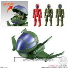 Bandai - Microwars - Dop and pilot