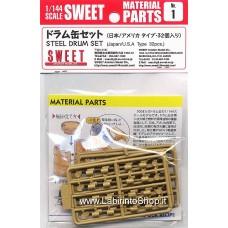 Sweet - Material Parts - 1/144 - Steel Drum Set