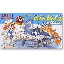 Sweet - U.S. Navy Fighter - 1/144 - Gm Fm-2 Wildcat