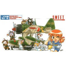 Sweet - 1/144 - Nakajima A6M2-N Rufe Type 2 Floatplane Fighter (Thunderbolt) (Plastic model)