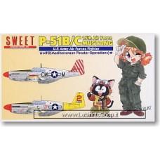 Sweet - P-51b/c Mustang 15th Air Force- 1/144