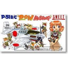 Sweet - P-51b/c Mustang Pow Mustang (Prisoner of War) - 1/144