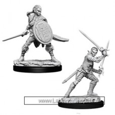Dungeons & Dragons: Deep Cuts Unpainted Minis: Female Elf Fighter