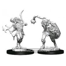 Dungeons & Dragons: Deep Cuts Unpainted Minis: Male Elf Fighter