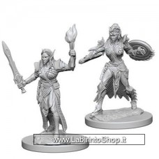 Dungeons & Dragons: Deep Cuts Unpainted Minis: Elf Female Fighter