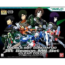 HG 1/144 1st Season MS Set Clear Color Gundam Model Kits