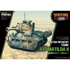 Meng World War Toons British Infantry Tank A12 Matilda II