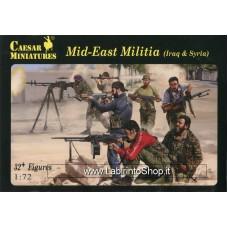Caesar Mid-east Militia Iraq and Syria 1/72