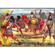 HAT HAT8020 - Hannibal's Carthaginians - African Infantry 1/72