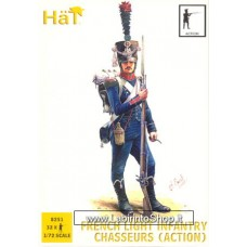 HAT HAT8251  French Light Infantry Chasseurs (Action) 1/72