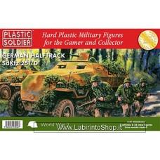 Plastic Soldier WW2 German Halftrack SdKfz 251/D 1/72