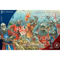 Perry Miniatures: Agincourt Foot Knights 1415-1429 28mm