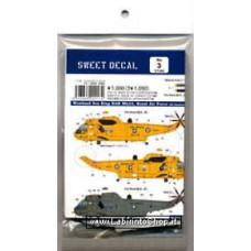 Sweet - Westland Sea King `Royal Air Force / Royal Navy` (Plastic model) 1/144