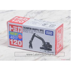 Takara Tomy - No.120 Hydraulic Excavator Grapple Specification (Tomica)