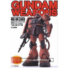 Gundam Weapons MS-06 Zaku (Book)