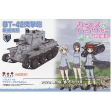 Dragon Platz Girls und Panzer das Finale BT-42 Assault Gun Jatkosota High School (Plastic model)