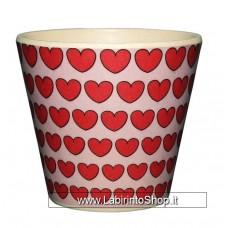 Quycoffe Bambu Tazzina Caffe' Love